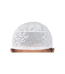 Brand new mens islamic prayer cap muslim topi skull hat kufi style head