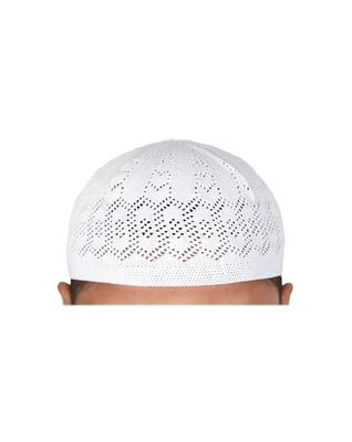 Brand New Men/'s Islamic Namaz Prayer Cap Muslim Topi Skull Hat Kufi Style Head