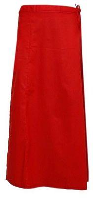 Red cotton plain cotton petticoat