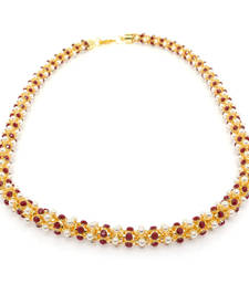 Buy PEARL STUDDED ELEGANT CHAIN Other online