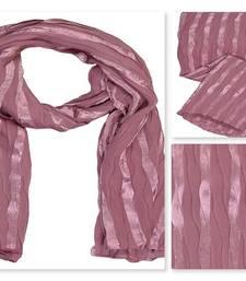 Pink  satin Islamic Style Stole Daily Wear Arabian Hijab