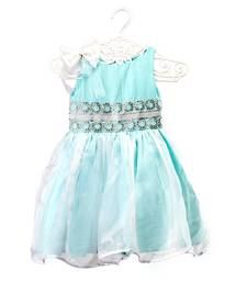 Fit & Flare Dress With Bow kids frock