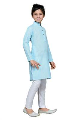 Feeroze cotton kids kurta pyjama for boys