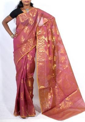 Classic banarasi aanchal saree