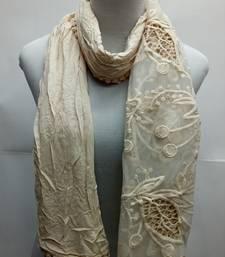 Buy Brown Cotton Islamic Style Stole Scarf Daily Wear Naqab  Arabian Hijab hijab online