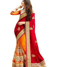 Buy Multicolor embroidered georgette saree with blouse women-ethnic-wear online