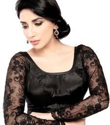 Buy black net  stitched blouse bridal-blouse online