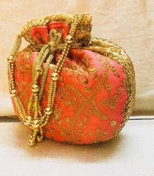 Buy Traditional Designer Potli With Beautiful Dori potli-bag online