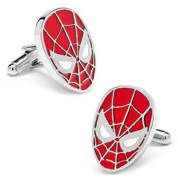 Spider Man Red Formal Shirt Cufflinks Pair for Men Gift Box