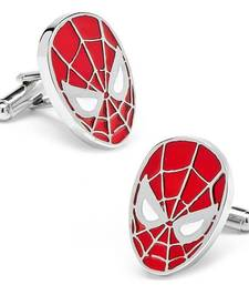 Spider Man Red Formal Shirt Cufflinks Pair for Men Gift Box