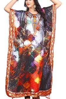 bc6c8897ca Buy Latest Trendy Satin Kaftan Dresses Online with Great Discounts