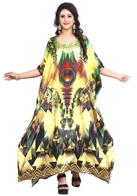 Multi Color Stylish New Party Wear Kaftan