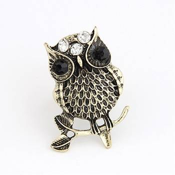 Chic Owl Ring(CFR0131)