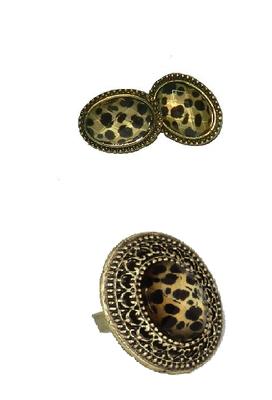 Leopard Jewelery Set