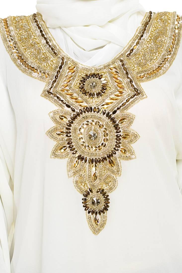 Buy Elegant Modern Dubai Arabian Islamic Kaftan Dress Online