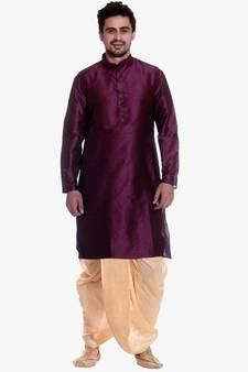 b079809072 PinkViolat Silk Ethnic Indian Traditional Mens Festive Wear Dhoti Kurta ·  Shop Now
