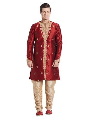 Indian poshakh antique art silk silk blend kurta pajama