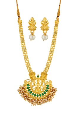 ELAKSHI Gold  PALTD necklaces SET