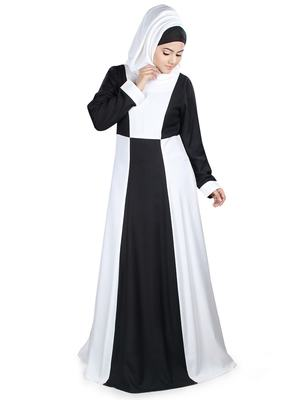 MyBatua Multicolor Rayon Arabian Dailywear Islamic Muslim Long Abaya With Hijab