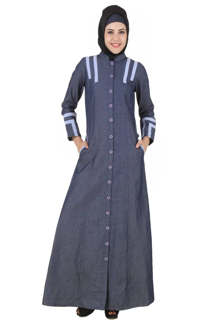 Buy Mybatua Blue Denim Arabian Dailywear Islamic Muslim
