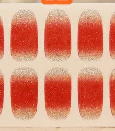 Shimmer 'n sparkle, new fashion metallic shining nail art sticker, french style nail art decoration