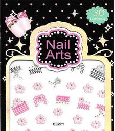 Buy New fashion nail art sticker, french style nail art decoration gifts-for-her online