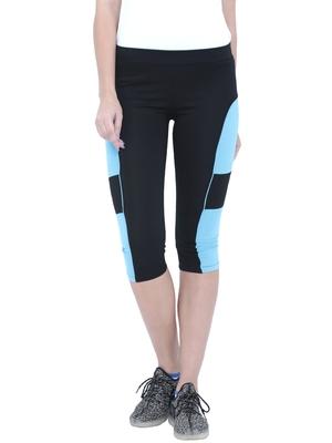 Tuna London capri length track pants for women