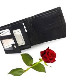 Designer Genuine Leather Men Wallet Valentine Gift