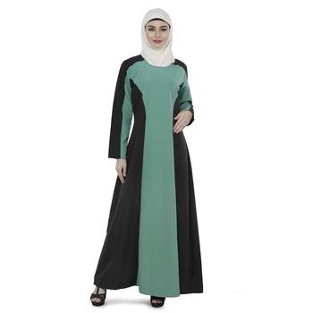 Multicolor Polyester Daily Wear Islamic Look Arabian Style For Women Long Abaya