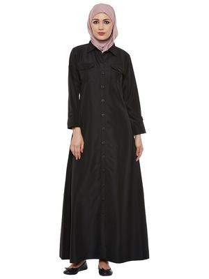 Blue Kashibo Daily Wear Islamic Look Arabian Style For Women Long Abaya