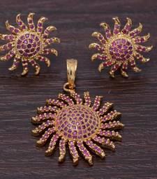 Buy Alankruthi Exclusive Pendant Sets Pendant online
