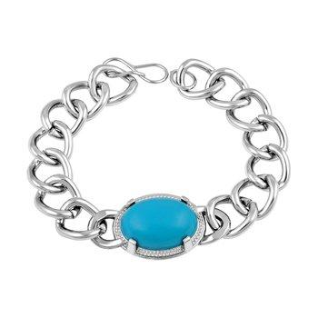 Silver Diamond Bangles And Bracelets
