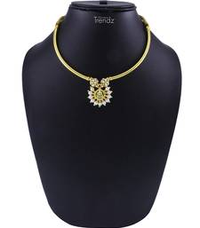 Traditional Handmade Jewellery Chandrakor Thushi & Pendal Necklace For Women And Girls