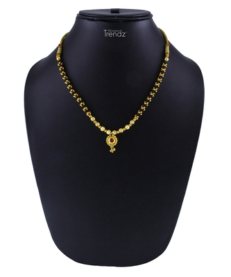 Traditional Handmade 24K Gold Plated Jewellery Necklace For Women And Girls