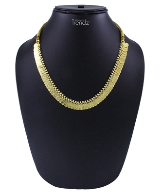 Traditional Handmade Gold Plated Jewellery Short Potli Haar Necklace/Haar for Women and Girls
