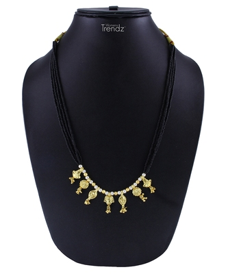 Handmade Ethnic and Antique 24K Gold Plated Alloy Jewellery Mangalsutra for Womens