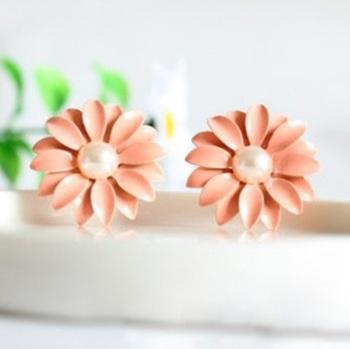 Morcrest Pastel Blossom Stud Earrings