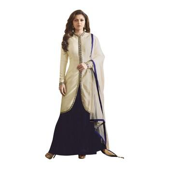 cream georgette cotton semi_stitched palazzo ethnic-suits