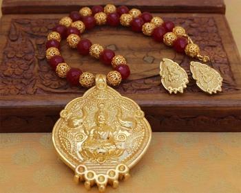 Gold Agate Pendants