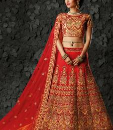 Heavy Embroidered Lehenga Choli On Mirraw Com