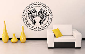 Ethnic Shell wall decal