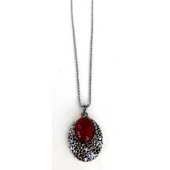 Stone long necklace/JW-689R