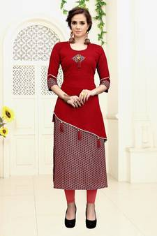 5117d47a2 Kurtis for Party - Buy Designer Party Wear Kurtis Online at Mirraw
