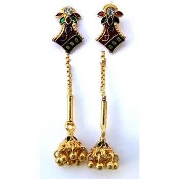 Needle Thread Earrings Jw 721