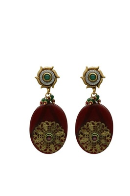 Oval Shape Earrings