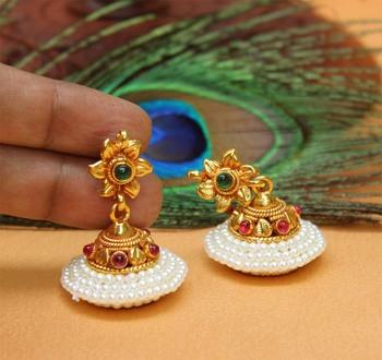 Multicolor Agate Earrings