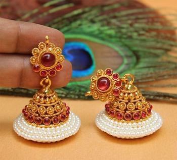 Red Agate Earrings