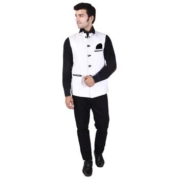 White Jute Modi Jacket