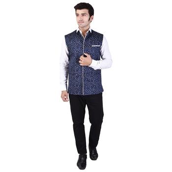Blue Cotton  Modi Jacket
