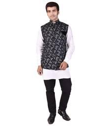 Black Cotton Modi Jacket